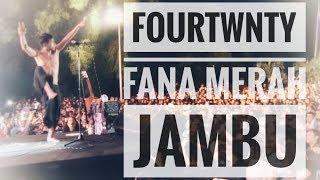 Gambar cover FOURTWNTY - FANA MERAH JAMBU | Live From Authenticity Fest - Bandung 2018