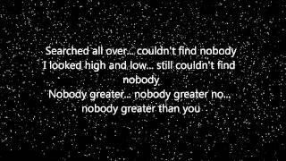 Vashawn Mitchell - Nobody Greater (Lyrics)