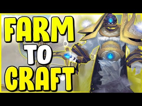 How To Make Gold Farm To Craft In WoW BFA 8.3 - Gold Farming, Gold Making