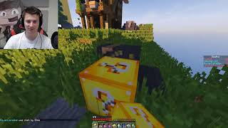 Minecraft  LUCKY BLOCK RED vs BLUE WALLS   MODDED MINI GAME