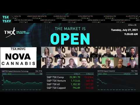 Nova Cannabis Inc. Virtually Opens The Market