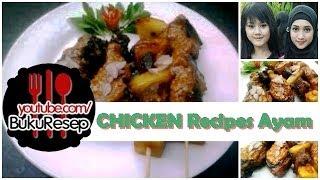 How To Make Baked Chicken Breast Recipes - Resep Masakan Ayam Bakar Rumah
