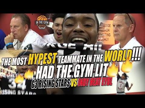 G3 RISING STARS UPSETS INDY HEAT EYBL   BEST GAME OF THE SUMMER