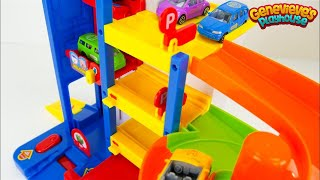 Toy Car Video for Toddlers Pororo Fire Truck and Vehicles for Kids!