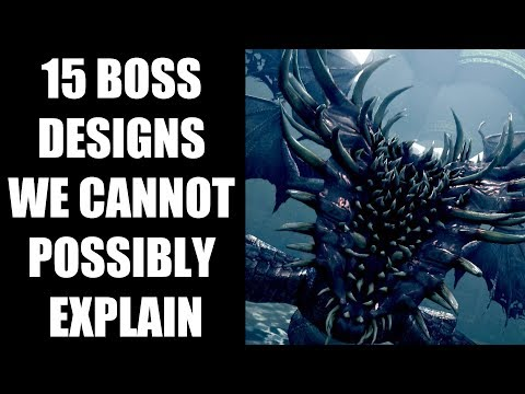 15 Crazy Video Game Boss Designs That We Cannot Possibly Explain