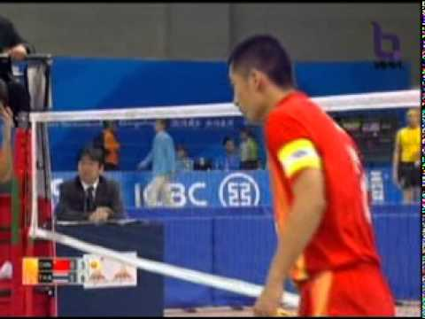 Sepak Takraw(Man) @2010 Asian Games - Thailand vs China 3/4