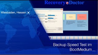 Speed Test: Backup im Notfall BootMedium