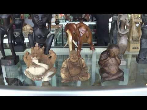 More Art stuffs at Sesela art market  Lombok, Indonesia