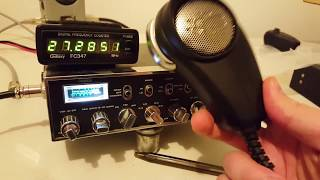 CB Radio: Galaxy DX44V Mobile with BC646 Mic