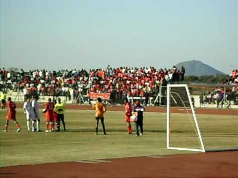 Gaborone United supporters