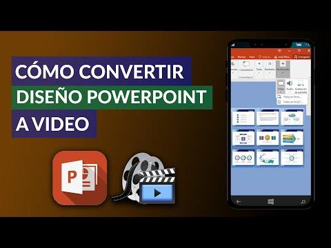 Cómo CONVERTIR una PRESENTACIÓN de Power Point a Video Paso a Paso