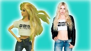 Barbie Nasıl ALEYNA TİLKİ' ye Dönüştürülür?