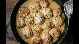 ТЕФТЕЛИ с рисом из куриного фарша👍БЫСТРО ВКУСНО ПРОСТО👍