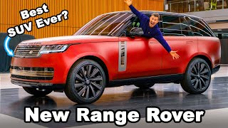 New Range Rover 2022: EXCLUSIVE in-depth review! Thumb