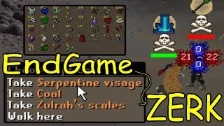 End Game Zerk PKing w/ Claws/Ags | Dragon Slayer 2 | Vorkath Grind
