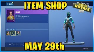 NEW Shade Skin STYLE and NEW Maverick Skin STYLE! | FORTNITE ITEM SHOP TODAY! (May 29th, 2019)