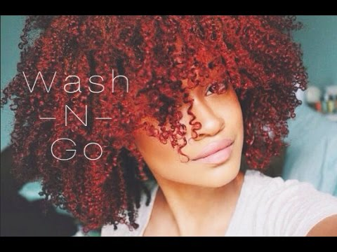 How To My Curly Defined Wash N Go Routine Tutorial Bri Hall Youtube