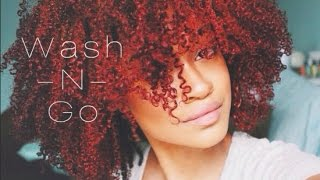 ❀ How to | My Curly Defined Wash n Go Routine Tutorial ❀ Thumbnail