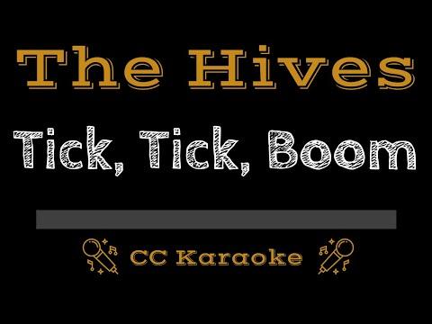 The Hives   Tick Tick Boom CC Karaoke Instrumental