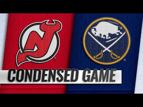 01/08/19 Condensed Game: Devils @ Sabres