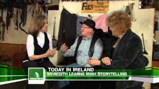 Meredith Learns Irish Storytelling On 'The Today Show'
