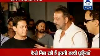 Controversy erupts over repeated furloughs to Bollywood actor Sanjay Dutt