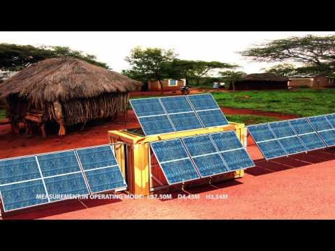 Solarcontainer - the global energy solution