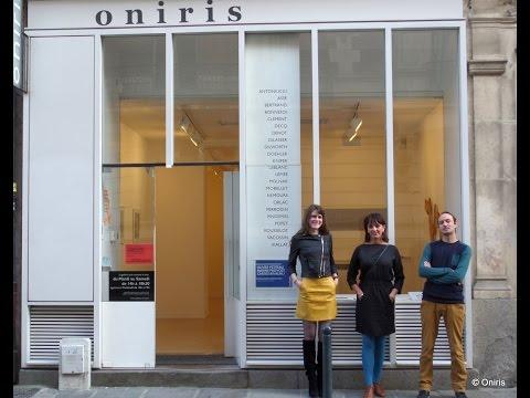 Expo Invitation #1 ● Olivier PETITEAU ● Marine PROVOST ● Carole RIVALIN ● Galerie ONIRIS ● 2015