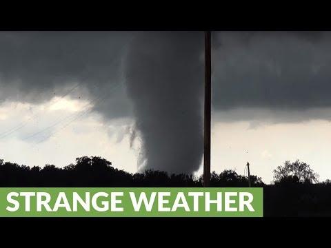 Incredible up-close footage of massive Oklahoma tornado