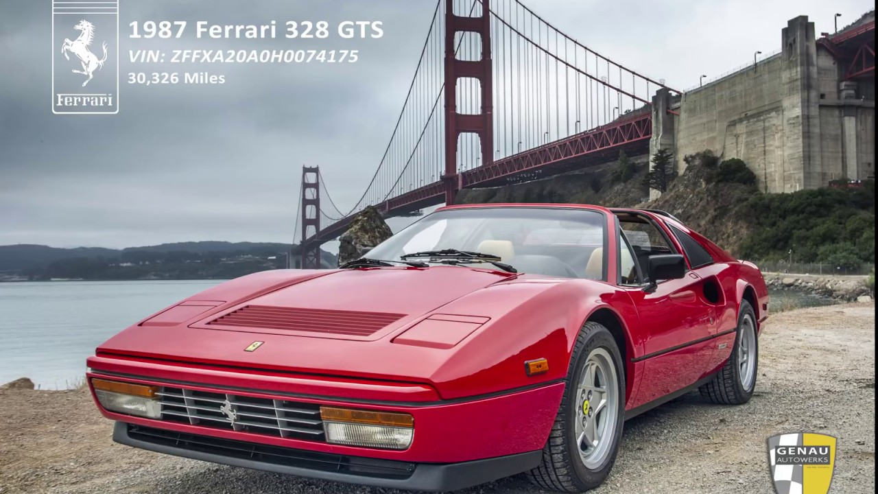 1987 Ferrari 328 GTS for sale!