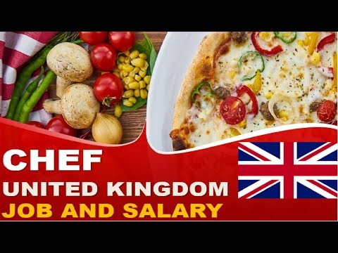 Chef Job And Salary In The UK - Jobs And Wages In The United Kingdom