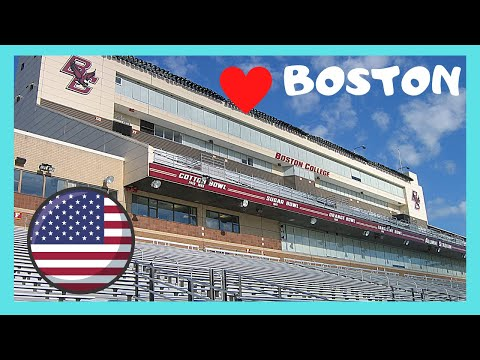 BOSTON COLLEGE, the ALUMNI STADIUM of the EAGLES (AMERICAN FOOTBALL), USA