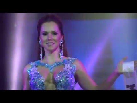 Mrs Brazil Globe Neise Cordeiro in China