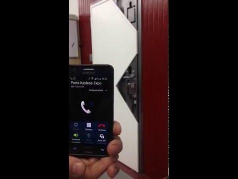 Keyless apertura porte blindate senza chiave youtube - Aprire porta senza chiave ...