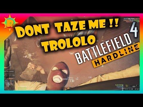 ☼ Battlefield 4 & Hardline Fails and Trolls (tazer, mav, funny moments)