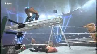 Justin Gabriel 450º Splash Off Ladder on Kane