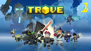 Trove - First Log In - Gameplay Part 1