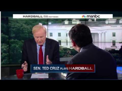 Ted Cruz interviewed by MSNBC