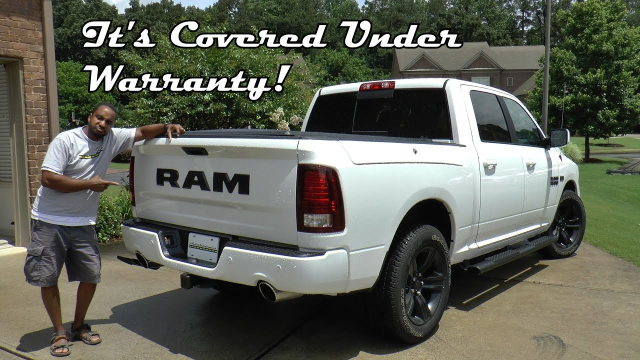 2017 Ram 1500 Night Edition Crew Cab 4x2 Review It S Covered Under Warranty