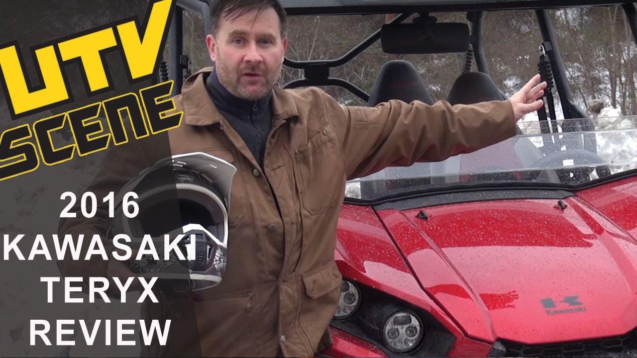 2016 Kawasaki Teryx Ride Review- UTV Scene