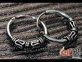Sterling Silver Hoop Earrings, wholesale from ELF925