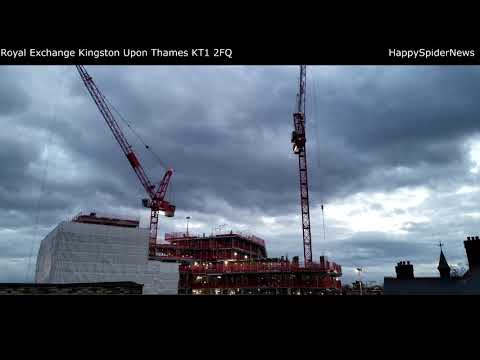 Old Post office / Royal Exchange Kingston upon Thames  / video II