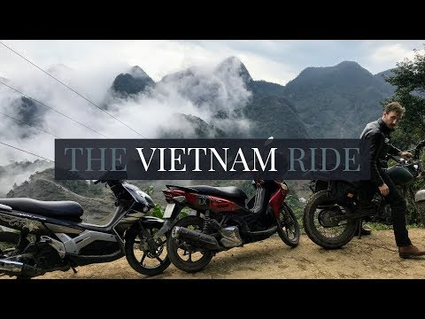 The Vietnam Ride 🏍 Hanoi to Mai Chau Motorbike Trip 2018