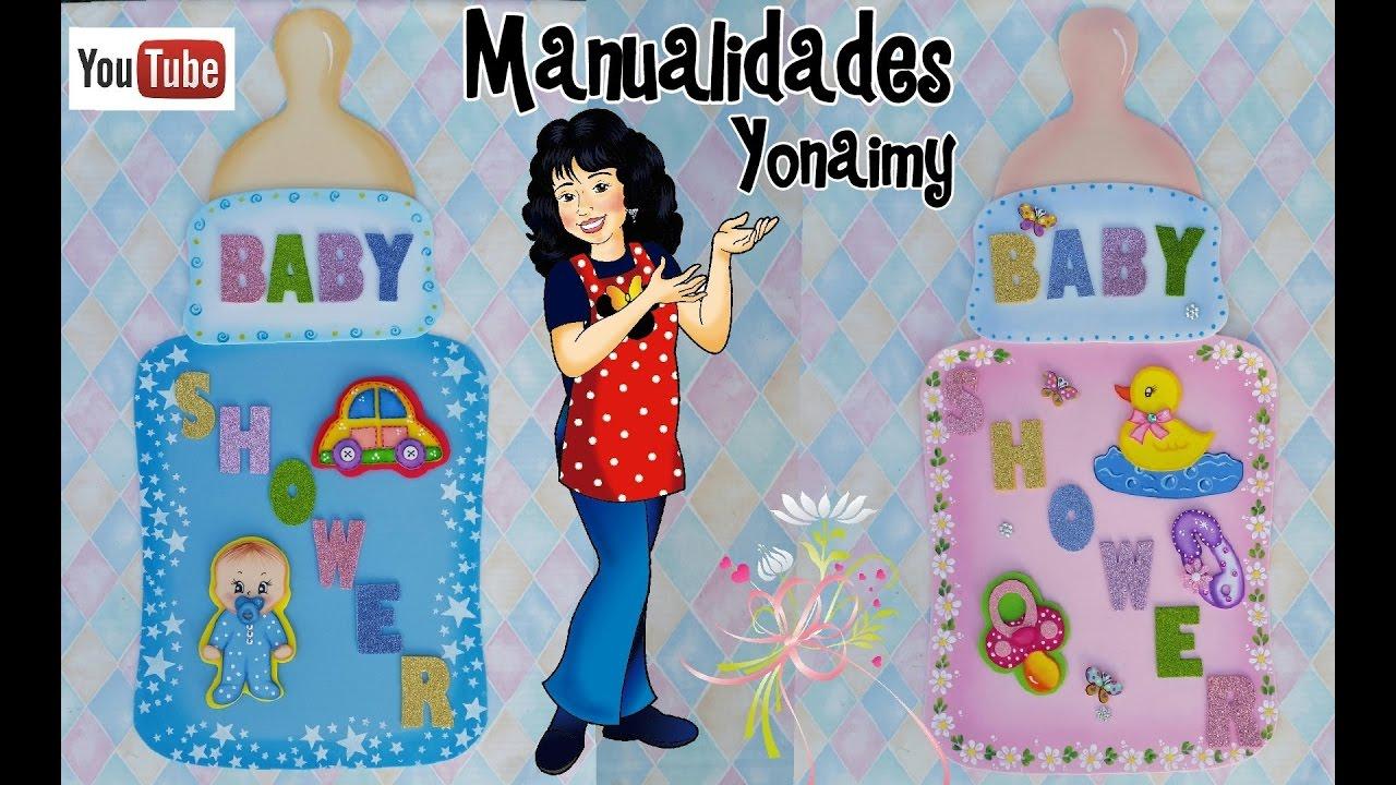 ADORNOS DE BABY SHOWER PARA PAREDES O PUERTAS  DIY  YouTube