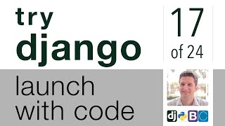 Try Django - Launch with Code - 17 of 24 - Create a Social Sharing Page Part 3