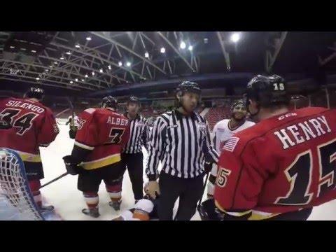ECHL Referee Wears GoPro