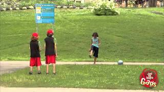 Ball Kick Kids Prank - Just For Laughs Gags