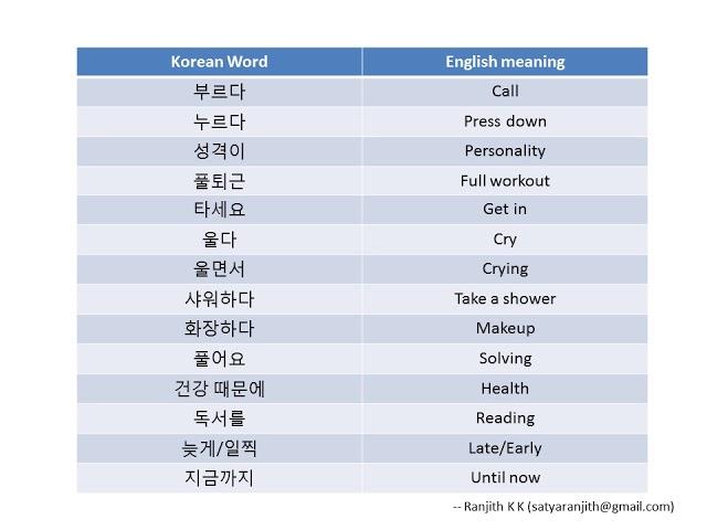 ?5? Vocabulary