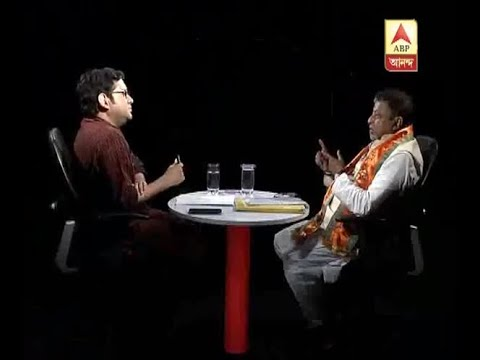 Ghantakhanek sangesuman: Mukul Roy in ABP Ananda Studio, After joining BJP, this is the fi