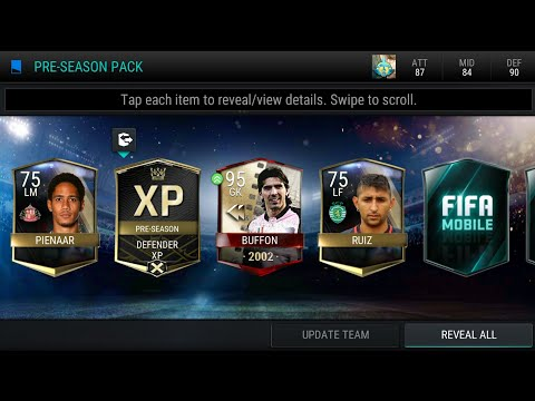 FIFA MOBILE PRE SEASON PACK OPENING! INSANE UFB PULLS !! BEST PACK OPENING !
